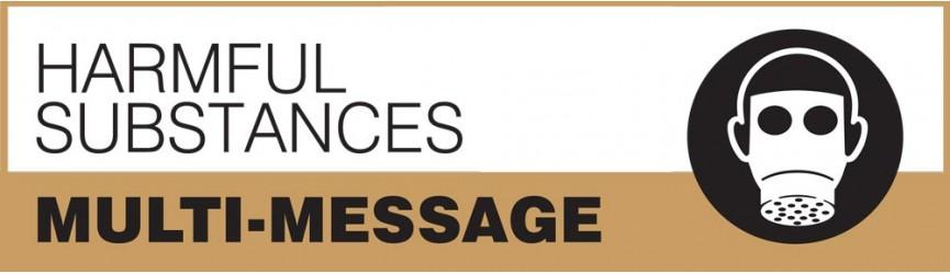 Harmful Substances Multi-Message