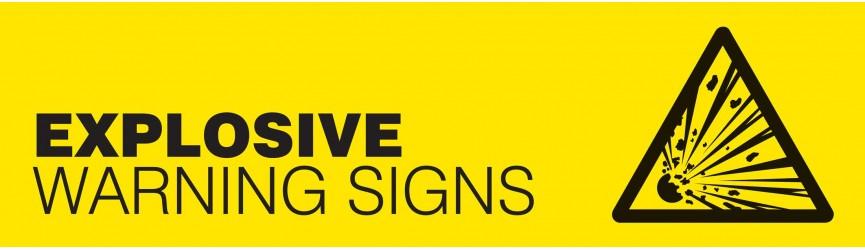 Explosive Atmosphere Warning Signs