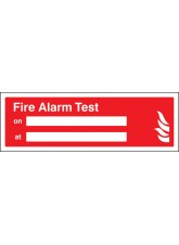 Fire Alarm Test on/at