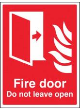 Fire Door Do Not Leave Open