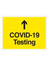 COVID-19 Testing (arrow up)