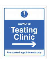 COVID-19 Testing - Pre-booked appointments only