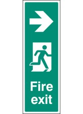 Fire Exit Right (Portrait)