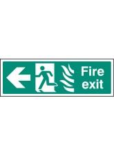 HTM Fire Exit - Arrow Left