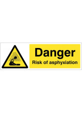 Danger Risk of asphyxiation