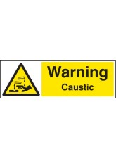 Warning Caustic