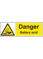 Danger Battery Acid