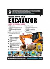 GTG Excavator Inspection Poster