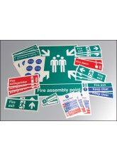Fire Safety Signs Kit