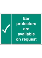 Ear Protectors Are Available on Request
