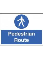 Pedestrian Route