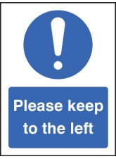 Please Keep to the Left