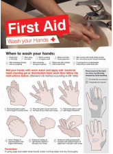 Wash Your Hands Poster - 594 x 420mm