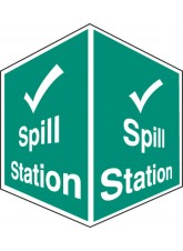Spill Station - Projecting Sign