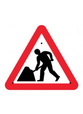 Re-Flex Sign - Road works
