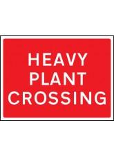 Heavy Plant Crossing - Class RA1 - 1050 x 750mm