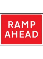 Ramp Ahead - Class RA1 - 600 x 450mm