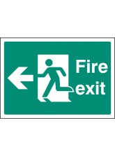 A4 Fire Exit Left
