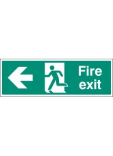 Fire Exit Left - Floor Graphic