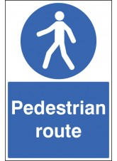 Pedestrian Route - Floor Graphic