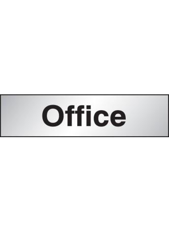 Office - Engraved Aluminium Effect