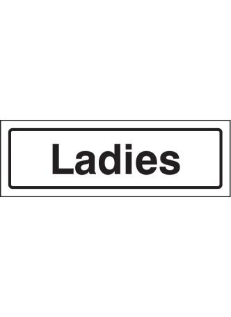 Ladies - Visual Impact Sign