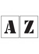 Stencil Kit - Letters A-Z - 150mm