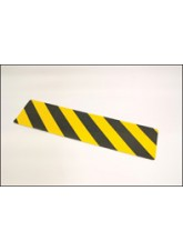 Anti-slip Mat Black / Yellow Chevron - 610mm x 150mm