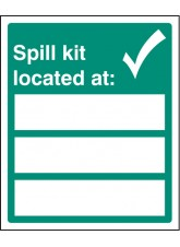 Spill Kit Located At