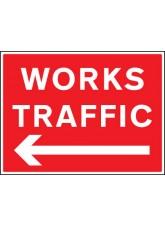 Works Traffic - Arrow Left