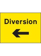 Diversion Left Arrow