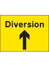 Diversion Up Arrow