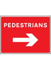 Pedestrians Arrow Right
