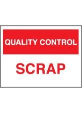 Quality Control Scrap
