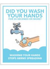 Cartoon - Did you Wash your Hands?