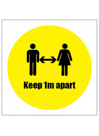 Keep Apart Sticker - 1m / 2m / Generic Distance Options