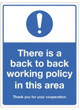 Back to Back Working Policy in this Area