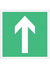 Arrow - Green Floor Graphic (Square)