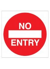 No Entry - Floor Graphic (Square)