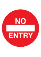 No Entry - Floor Graphic (Circle)